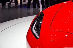 Corvette C7 Stingray Coup Detail (Lucinho Photography) Tags: detail canon photography eos stingray salone corvette ginevra coup c7 2013 lucinho 18135mm 60d coup efs18135mmis