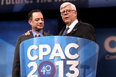 Reince Priebus & David Keene (Gage Skidmore) Tags: david wisconsin harbor dc washington action political rifle maryland national conference conservative republican keene committee rnc nra association cpac 2013 reince priebus