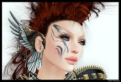 (Shadow Rothmanay) Tags: fashion mesh style mandala sl event fantasy secondlife ro emotions alchemy thearcade gizza voluptia slhair deadapples skinfair purpleposes slfashionweek remarkableoblivion