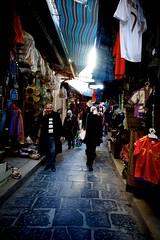 Tunis souks (Chichou Nette) Tags: shopping tunisia path souk