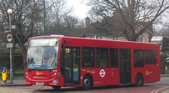 London General SE169 on route 413 Sutton Green 27/03/13. (Ledlon89) Tags: bus london buses general transport surrey sutton londonbus tfl enviro200 alexanderdennisdart