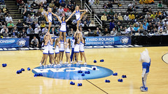SLU Cheerleaders (J-Fish) Tags: basketball cheerleaders mascot ncaa 50mmf18d billiken marchmadness hppavilion stlouisuniversity d300s ncaamarchmadness stlouisbillikens