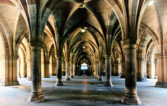 Cloisters 3 (JaggieB) Tags: scotland cloisters glasgowuniversity