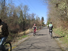 Busy day on the trail (Lynne Fitz) Tags: bicycle oregon sweetpea 100k permanent populaire randonneur