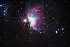 M42 - The Orion Nebula (Justin Good) Tags: stars space nebula astrophotography orion m42 astronomy Astrometrydotnet:status=solved Astrometrydotnet:version=14400 Astrometrydotnet:id=alpha20130447137373