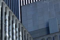 An angle on Rockefeller Center (Travels with Kathleen) Tags: urban newyork abstract architecture concrete geometry manhattan angles rockefellercenter mcgrawhillbuilding geometries exxonbuilding xyzbuilding