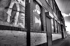 Alternative Angle (Lee Summerson) Tags: art mono wroughtiron sculptures hartlepool flaxtonstreet
