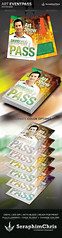 Art_Event_Pass_-Template_-Preview (SeraphimChris) Tags: news modern id pass security staff identification artshow bouncer nametag exclusive backstagepass talentshow credentials presspass allaccess laminated lamination eventstaff mediapass vippass clubevent corporateevent medicalevent stagepass eventpass seraphimchris mattelamination