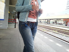 Jeans girl (Zangeressenlive) Tags: street girls sexy candid jeans denim tight