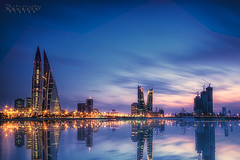 No Matter Where You Are ( Hussain Frutan | www.hf-photos.net) Tags: blue b sunset sea sky panorama sun reflection night speed sunrise studio landscape photography star dc bahrain high amazing nikon rocks 7100 photos harbour d bridges blues sigma center reflect 5200 kuwait 5000 nikkor 1020mm scape financial hdr manama arad bahrian hussain hf     hidd fozool hsm cloued   muharaq d5000 d7100   cloueded ma7araq frutan wwwhfphotosnet