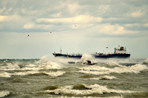 Windy day on Lake Ontario