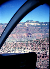 Grand Canyon steep-sided canyon carved by the Colorado River in the U.S. state of Arizona in North America 1987 079 Helicopter Ride (photographer695) Tags: grand canyon steepsided carved by colorado river us state arizona north america 1987