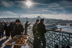 Istanbul | Galata Bridge | Eminonu (wazari) Tags: city travel art history classic architecture photoshop vintage turkey photography ancient asia europe european place artistic ataturk minaret islam faith religion culture istanbul mosque retro photograph adobe journey dome destination historical ottoman taksim middleages secular turkish byzantine bosphorus masjid asean cultural turk sultanahmet traveler galata constantinople islamicart travelphotography galatatower stamboul travelphotographer wazari senibina wazariwazir