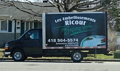 Embellissement Ricour (Jacques Trempe) Tags: advertising quebec publicity publicite vehicule stefoy ricour embellissement