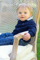 Dylan (njmommyof3boys) Tags: park boy portrait baby sun sunshine outdoors sweater spring blueeyes couch blonde settee