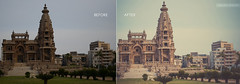 Baron Empain Palace | B&A (Sherif Wagih) Tags: man heritage monument photoshop typography nikon young egypt palace images cairo egyptian getty historical dslr baron sherif lightroom amatuer curator flickrfriday empain photogher wagih d5100