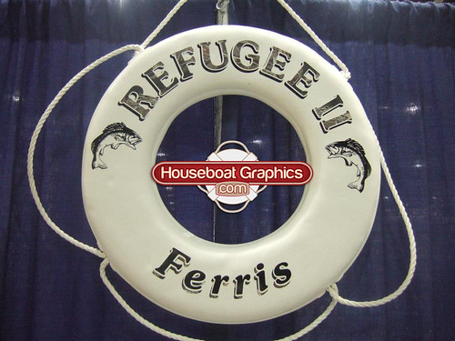 Flickriver Most Interesting Photos Tagged With Liferingbuoy - Custom designed houseboat graphics