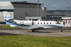 SP-KCS.GLA160716 (MarkP51) Tags: spkcs cessna 560xls citationexcel bizjet corporatejet glasgow airport gla egpf scotland aviation aircraft airplane plane image markp51 nikon d7200 aviationphotography