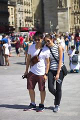 Asian couple lovers (AbdelHadef) Tags: paris asian couple lovers amoureux