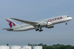 Qatar / B788 / A7-BCT / EBBR 07R (_Wouter Cooremans) Tags: ebbr bru brusselsairport zaventem spotting spotter avgeek aviation airplanespotting qatar b788 a7bct 07r