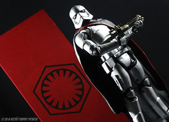 First Order's Captain Phasma (Rezso Kempny) Tags: hasbro disney star wars episode vii 7 force awakens first order captain phasma banner gwendoline christie tfa lucasfilm 6 inch inches black series