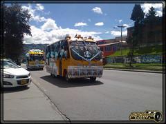 Buseta Trans Nuevo Horizonte S,A, 46340 (Los Buses Y Camiones De Bogota) Tags: autobus colombia bogota busologia bus usme buseta trans nuevo horizonte sa 46340