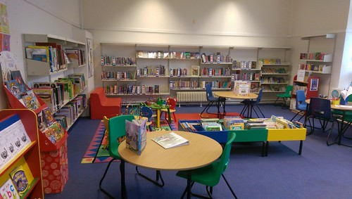 Children's section in Dalton library