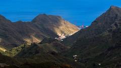 Barranco / Ravine (Lpez Pablo) Tags: ravine tenerife sea mountain