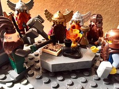 Deliberation of the Dwarves (Mokabacca) Tags: dwarves lego