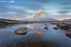 [Explored] Stob Dearg, Buachaille Etive Mr, Glencoe, Scottish Highlands (Wend's photography) Tags: glencoe atmosphere britain landscape mountains moorland scotland scottish highlands uk unitedkingdom scenery photography reflection rocks river coupall winter winterscape