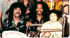 Cecilio and Kapono at Kapiolani Medical Center for Women and Children - Hospital Picture (cropped) (kalihikahuna74 (Ryukyu Khan or Okinawa808)) Tags: cecilio kapono henry rodriguez hawaiian hawaii music kapiolani hospital women medical center children 1970s 1970 small kid child time hanabuttadays hana butta days hanabada musician contemporary oldschool wheelchair kevi kevin