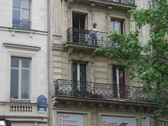 Space Invader PA_963 (tofz4u) Tags: 75003 paris streetart artderue invader spaceinvader spaceinvaders mosaque mosaic tile strret rue people window balcon balcony fentre pa963 pimpmywindow