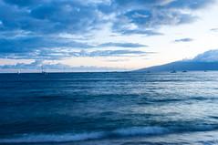 Sailboats after Sunset (kathrynjoy93) Tags: maui lahaina fleetwoodmac sailboats ocean water sky
