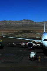 Calama II (Guillermo Puglia) Tags: chile aeropuerto antofagasta calama airport avion plane pista track sanpedrodeatacama desierto desert airplane