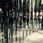 Holiday makers sliced up by art at ngv visit