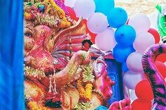 "IMAGE CAPTURED OF  LORD GANESHA .   Abhishek saini captured this image of Lord Ganesha and captioned ""   !!     !!"". Comments and Feedback would be really appreciated... EXIF Details:- Canon 1200d Focal Length : 135 mm Ap (abhishekmesthai) Tags: canon1200d ganeshutsav picoftheday delhi canon photography photographyday ganesha abshine abshinelove pictureoftheday lord ganeshchaturthi ganpatibappamorya ganpati dslr india ganesh abshinephotography"