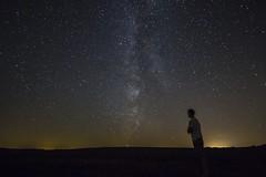 Milky Way - Vosges (loicciaux) Tags: stars milky way vosges landscape voie lacte toiles galaxy