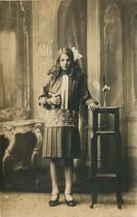 1926 My Mother (14) (Steenvoorde Leen - 2.1 ml views) Tags: ansichtkaart postkaart postcards postkarte karte card 1927 mother mymother braakman noordwijk
