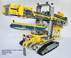 LEGO 42055 Bucket Wheel Excavator (KatanaZ) Tags: lego42055 bucketwheelexcavator lego technic minetruck