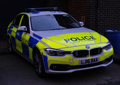 LJ16BAA (Cobalt271) Tags: lj16baa northumbria police bmw 330d xdrive auto saloon motor patrols traffic vehicle new proud to protect livery