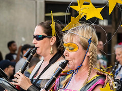 Seed and Feed Clarinet Star (ObviousWM) Tags: dragoncon dragoncon2016 atlanta cosplay costume marchingband seedandfeed marchingabominables clarinet musicians dragonconparade 2016