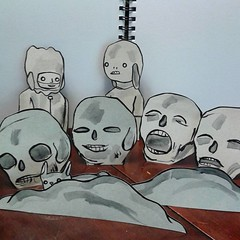 no expanation (cardboard character cut-outs) (starheadboy) Tags: noexplanation cardboard characters