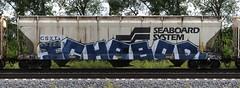 Ichabod (quiet-silence) Tags: graffiti graff freight fr8 train railroad railcar art csx hopper ich ichabod yme circlet seaboardsystem csxt247961