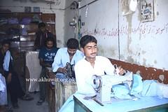 Tailor Shop in Sukkur (Akhuwat BPP) Tags: sukkur pakistan interest free loans microfinance entrepreneurship pakhtoon ordinary people small business akhuwat