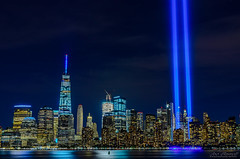 9-11_Tribute (Joe Barrett Photography) Tags: 911memorial 911tribute city cityscape neverforget newyork newyorkcity skyline afterdark night nightlights catchycolors catchycolorsblue catchycolorspurple 911 oneworldtradecenter freedomtower tributeinlight libertystatepark hudsonriver wetreflections longexposure bigapple citythatneversleeps vibrant gotham bestoftoday yourbestoftoday flickrsbest sigma1770mmf284dcmacro manhattan blue
