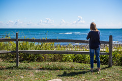 Look (Evan's Life Through The Lens) Tags: camera 5d mark mk three 3 iii lens glass zoom wide telephoto 2470mm f28 vibrant color blue green orange ocean water outdoors outside bike escape cold autumn 2016 femur recovery alone