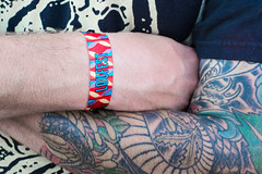 LouFest (Ben at St. Louis Energized) Tags: stlstlouis forestpark loufest musicfestival wristband concert tattoo people city urban