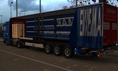 krone trailer (trucker on the road) Tags: krone trailer man tgx euro 6 ets2
