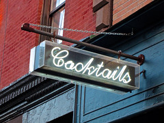 Cocktails, New York, NY (Robby Virus) Tags: newyork newyorkcity nyc ny manhattan city bigapple cocktails neon sign signage bar booze alcohol