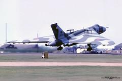 XH558 EGHI 1990 (Burmarrad) Tags: airline united kingdom royal air force raf aircraft avro 698 vulcan b2 registration xh558 cn set12 eghi 1990